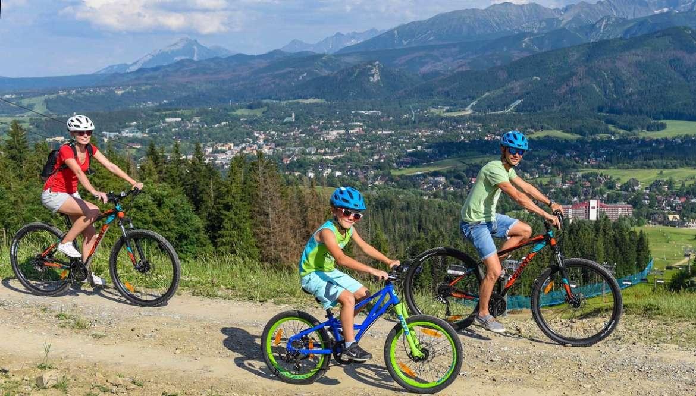 Rowery (ścieżki rowerowe) dla Dzieci Zakopane