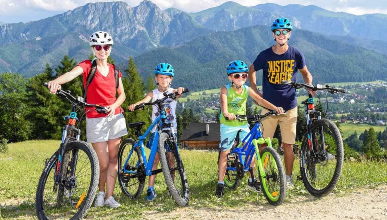 Wycieczki rowerowe w Zakopanem – pomysł na rodzinny wypoczynek w górach